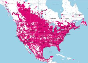 LTE Coverage Map