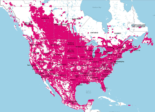 LTE Coverage Map